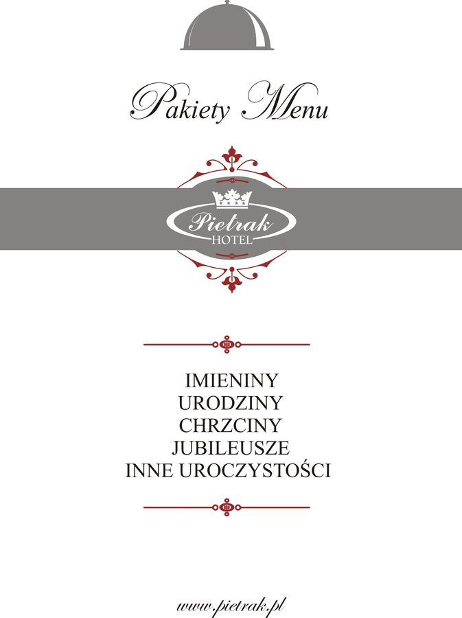 Pakiety Menu